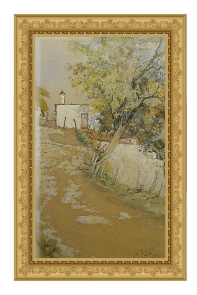 Họa sỹ Rafail Levitsky_Hillside Walk Russia (1908)