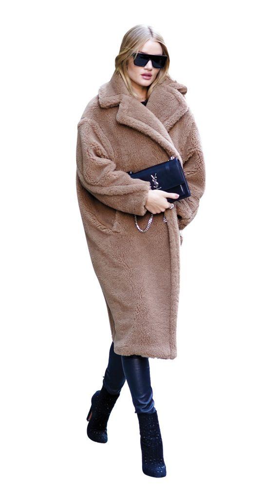áo khoác Trench coat của Max Mara thời trang mùa đông 2018
