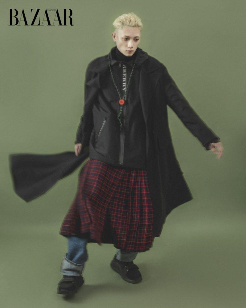 Bộ ảnh thời trang Burberry