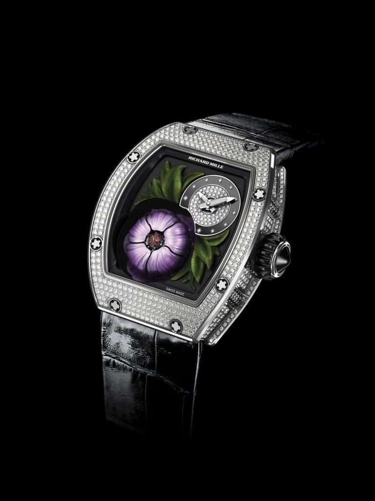 đồng hồ nữ của Richard Mille_Tourbillon-Fleur