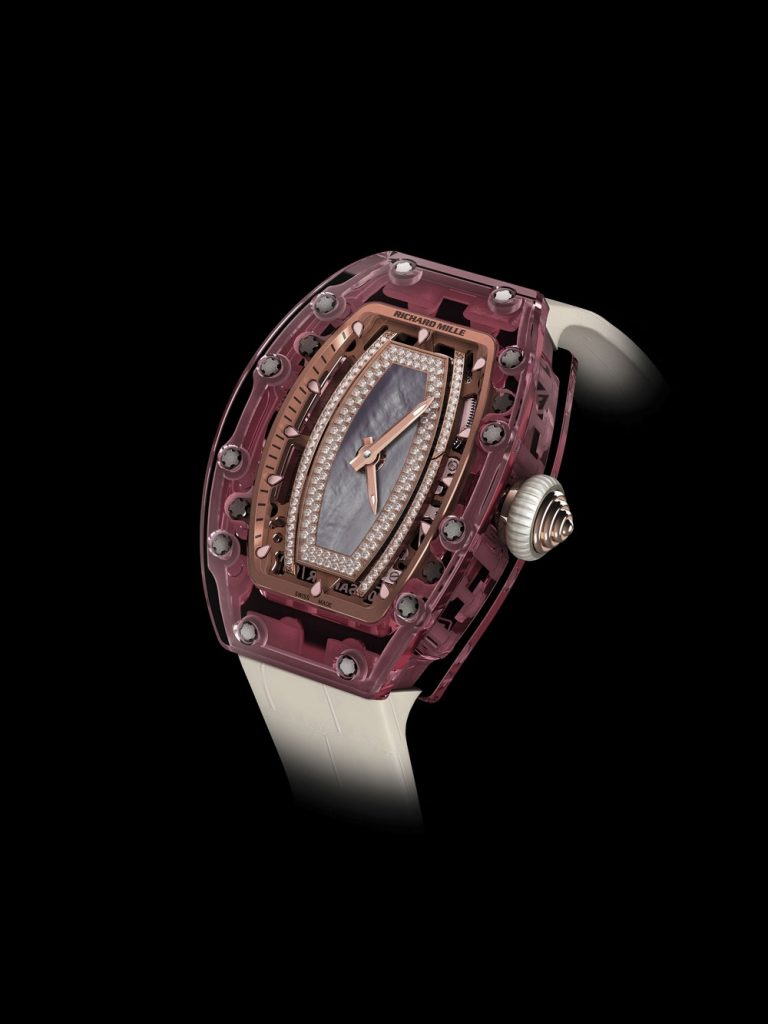 đồng hồ nữ của Richard Mille RM 07-02 Pink Sapphire