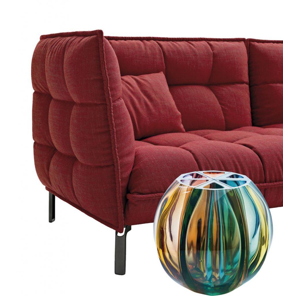 màu nội thất Ghế Sofa Husk, B&B Italia