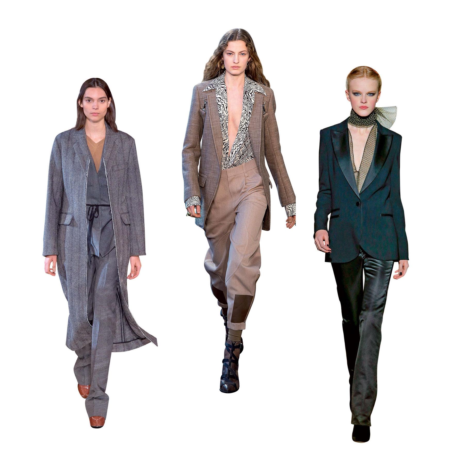 thời trang pantsuit