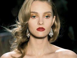 trang điểm phấn nhũ mắt và môi_Julia Belyakova