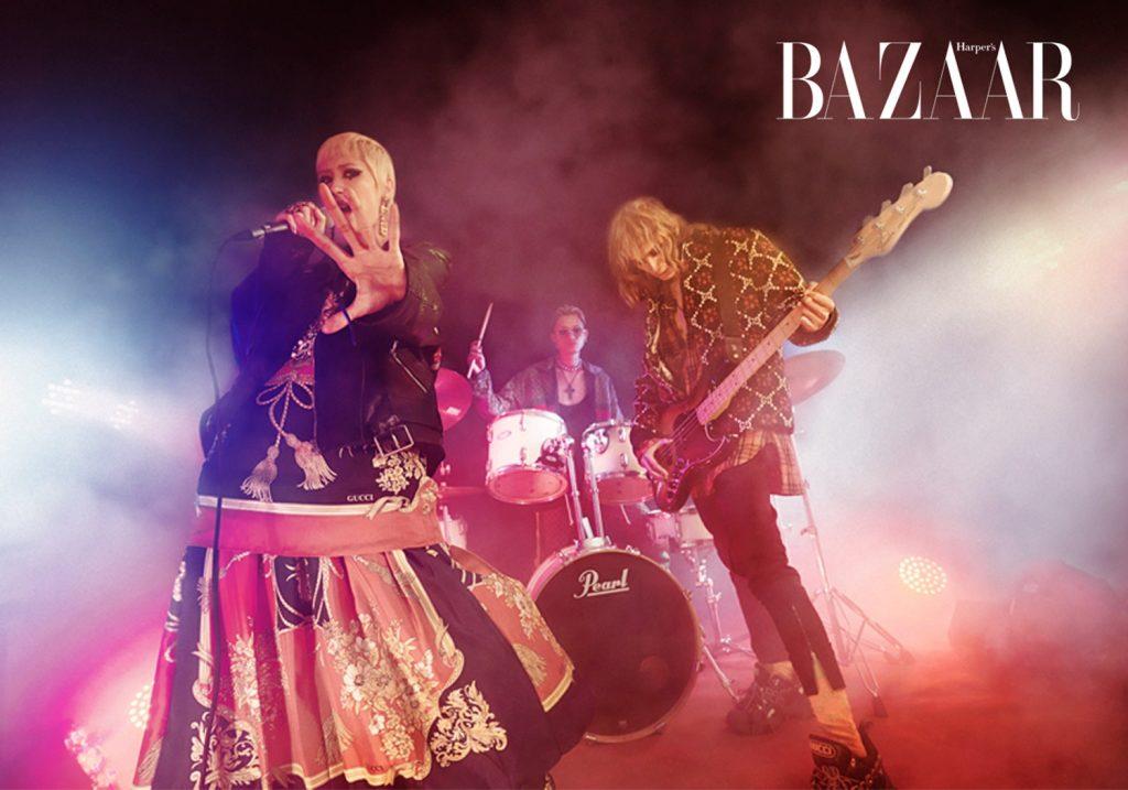 bộ sưu tập Gucci Cruise 2019 - nhóm nhạc Queen