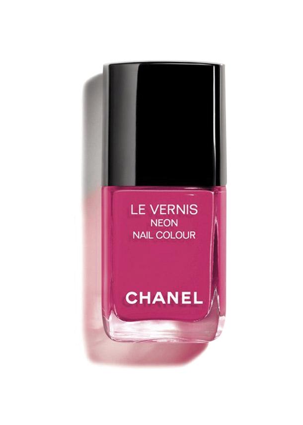 Bộ sưu tập trang điểm Chanel Xuân Hè 2019, Sơn móng tay Le Vernis Neon Nail Colour Màu 648 Techno Bloom