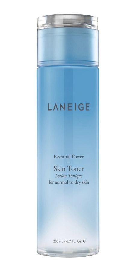 tẩy trang đúng cách với Nước cân bằng Laneige Essential Power Skin Toner