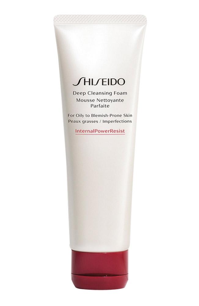 tẩy trang đúng cách với Sữa rửa mặt Shiseido Deep Cleansing Foam