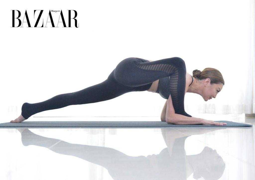 tập Yoga tại nhà Tư thế thằn lằn