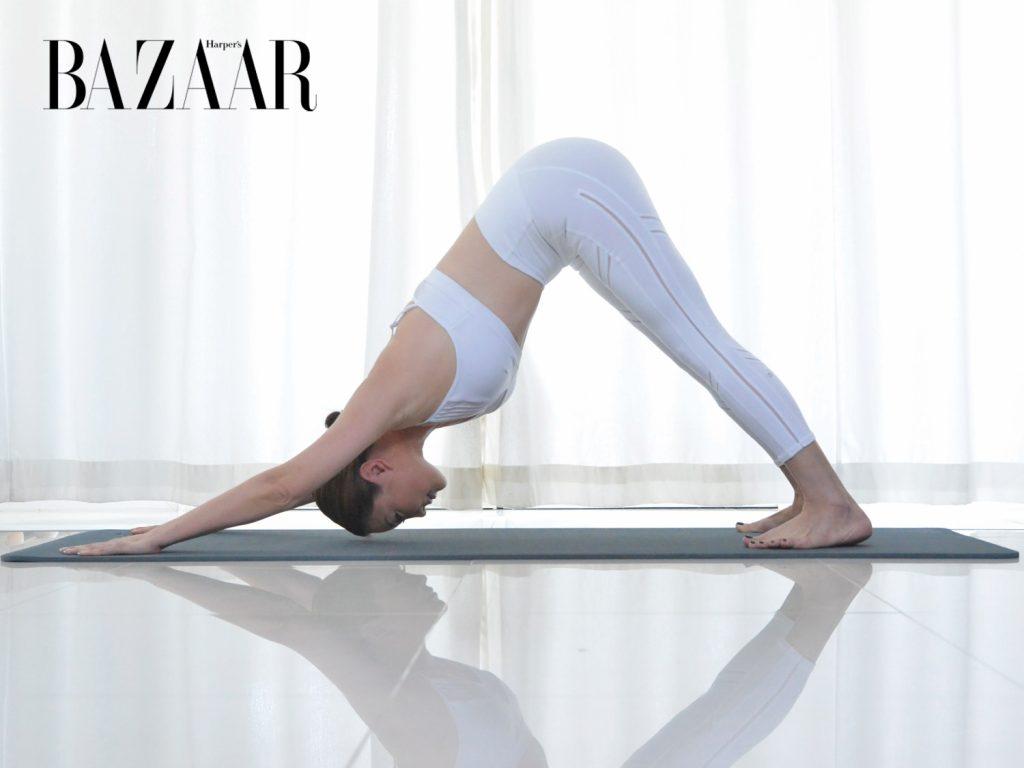 tập Yoga tại nhà Tư thế chữ V