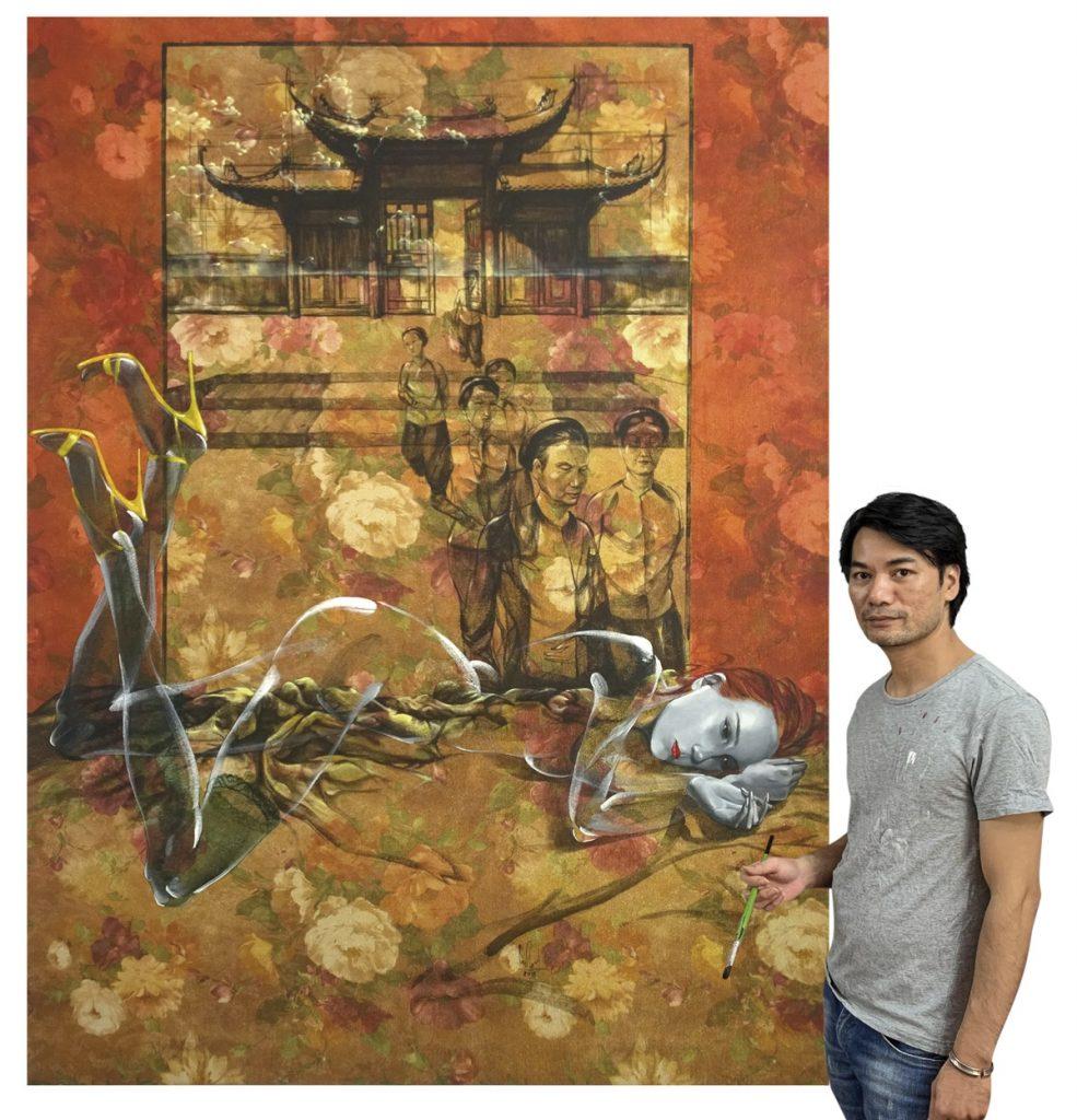 Bức tranh Giấc mơ Họa sỹ Nguyễn Minh Nam