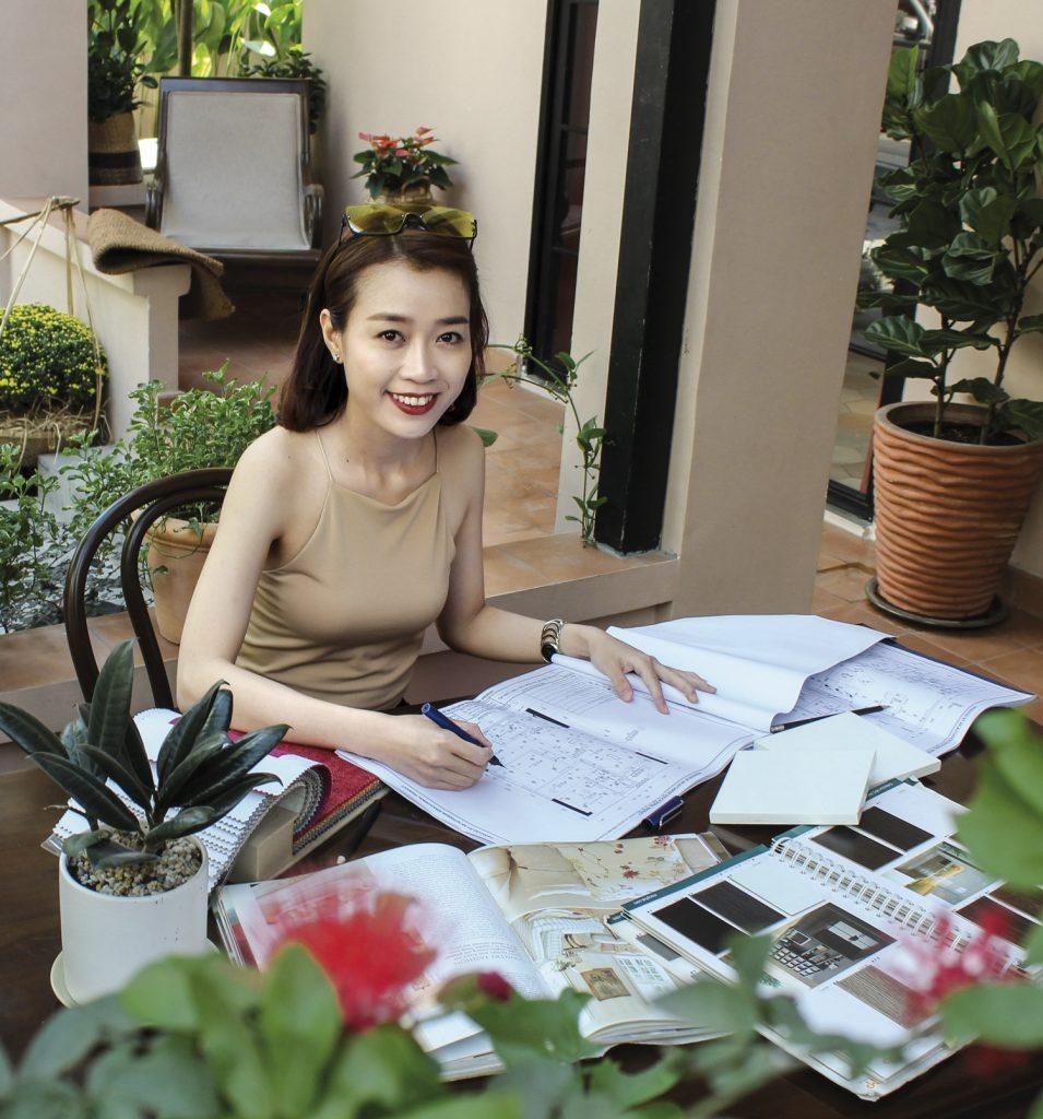 interior designer Quỳnh Lê