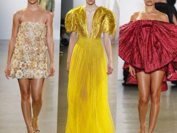 Đến với New York Fashion Week 2019, NTK Công Trí tiếp tục thử thách mình với một đề tài tưởng chừng khá quen thuộc và nằm trong khả năng của anh - đầm dạ tiệc và trang phục dành cho sự kiện thảm đỏ