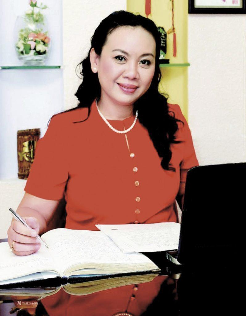Thạc sĩ tâm lý Nguyễn Thị Tâm nữ doanh nhân Việt Nam