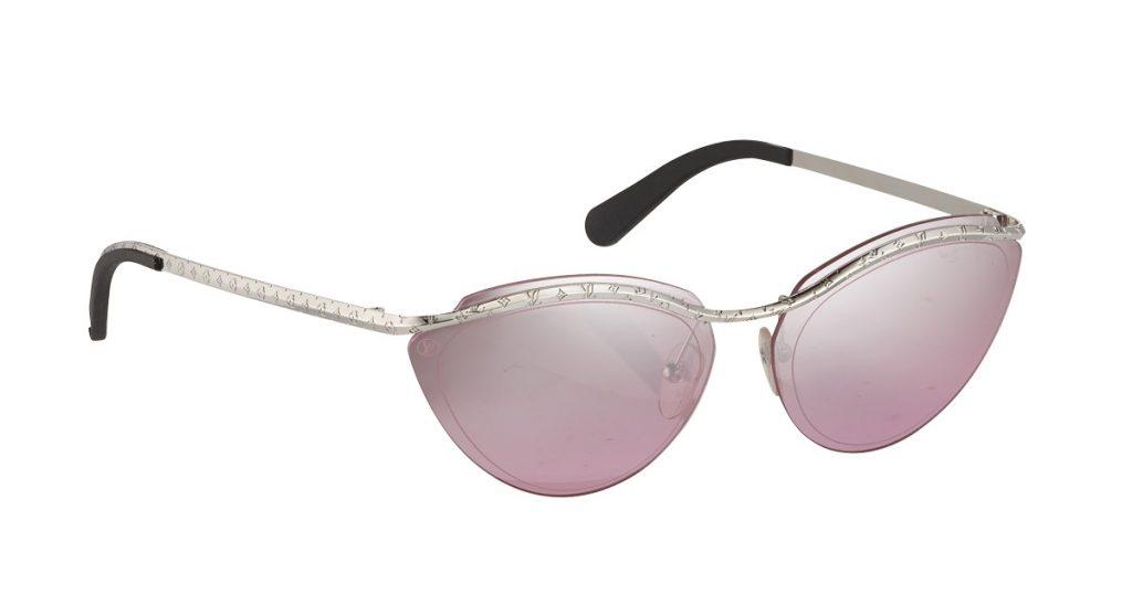cách phối trang phục màu hồng Mắt kính Louis Vuitton