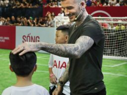 Danh thủ David Beckham