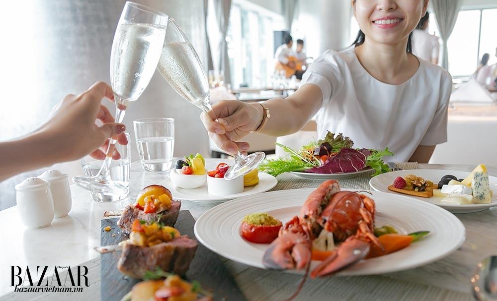 Gói quà tặng ngày 8/3 từ khách sạn Le Méridien Saigon bao gồm nhiều dịch vụ ưu ái phái nữ