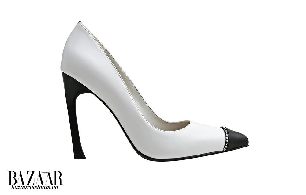 Giày da trắng Pedro