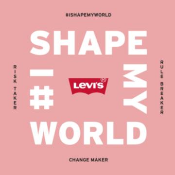 """Thương hiệu Levi's gây rung động thế giới với chiến dịch """"I Shape My World"""""""