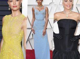 Cách phối đồ đi tiệc đẹp như sao Hollywood: Lady Gaga, Kate Bosworth trên thảm đỏ Oscar 2019