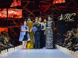 Bộ sưu tập Áo dài Minh Châu tại AVIFW SS 2019