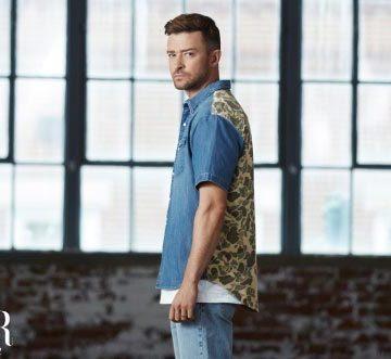 Bộ sưu tập Fresh Leaves: Justin Timberlake phối hợp với thương hiệu Levi's