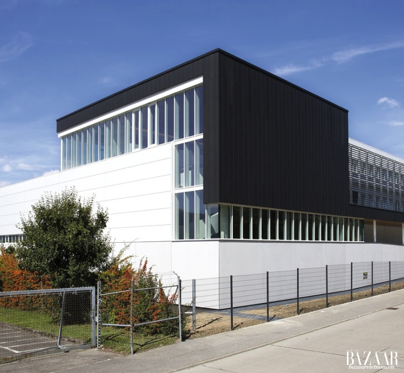 Kiến trúc xưởng chế tác đồng hồ Louis Vuitton