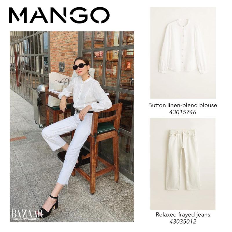 Thanh Hằng, Bộ sưu tập Xuân Hè 2019 Mango