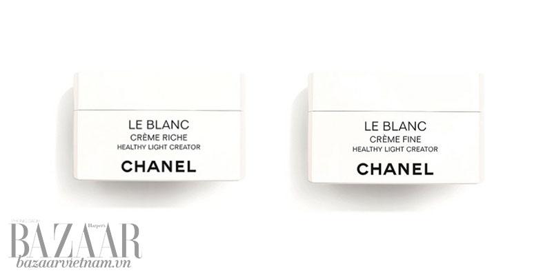 Kem dưỡng da Chanel Le Blanc mới mùa 2019: Crème Riche và Crème Fine