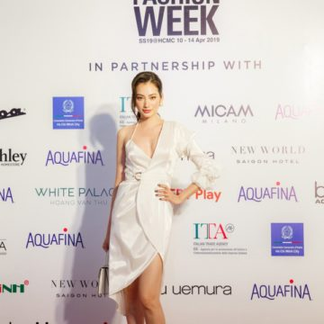 Aquafina Vietnam International Fashion Week