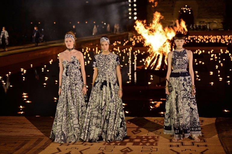 Bộ sưu tập Dior Resort 2020 tại Marrakech