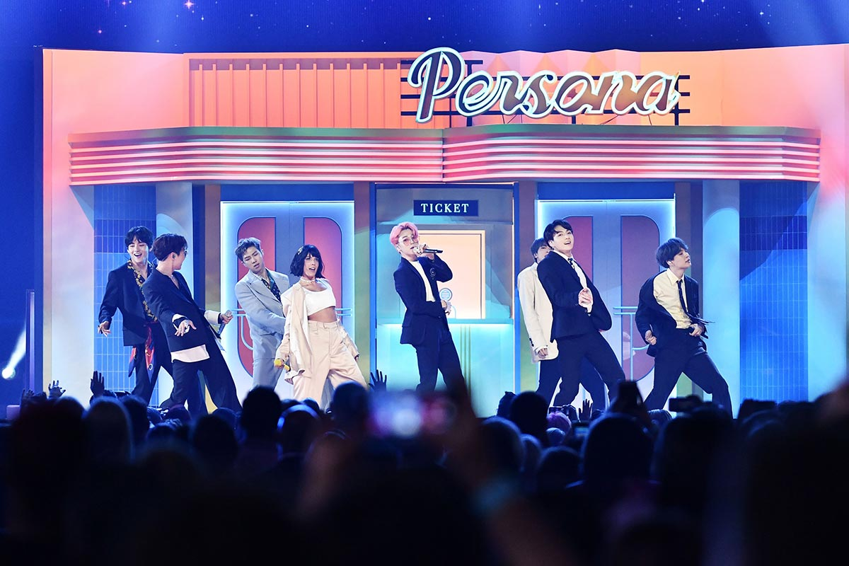 BTS biễu diễn tại lễ trao giải Billboard Music Awards 2019