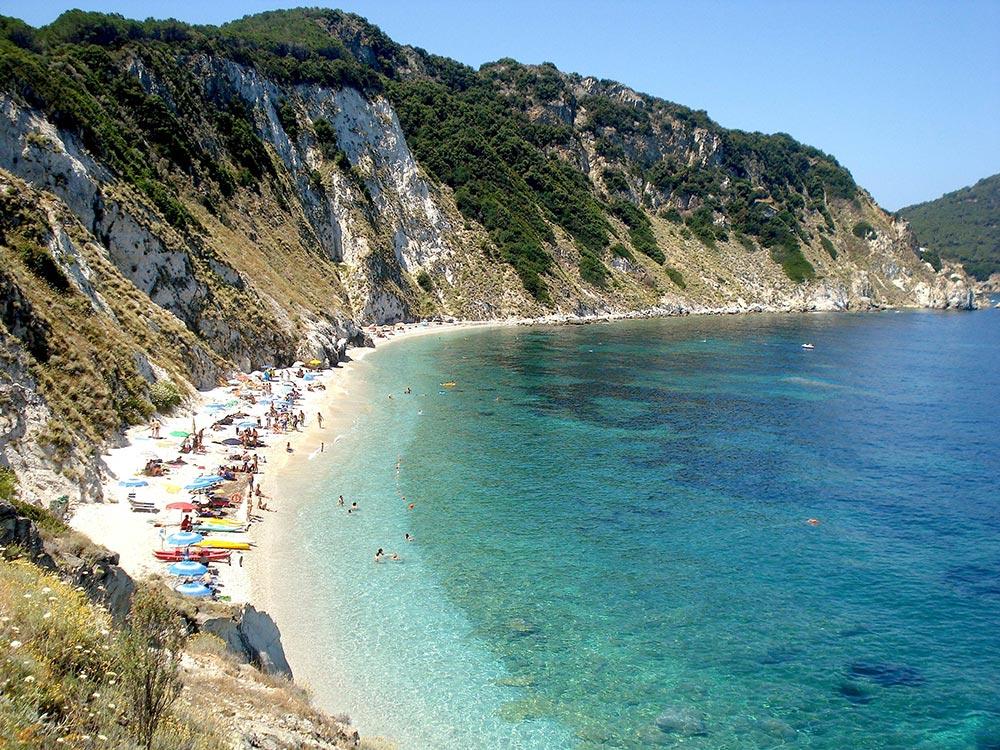 Du lịch Ý – Đảo Elba. Bãi biển trên đảo Elba