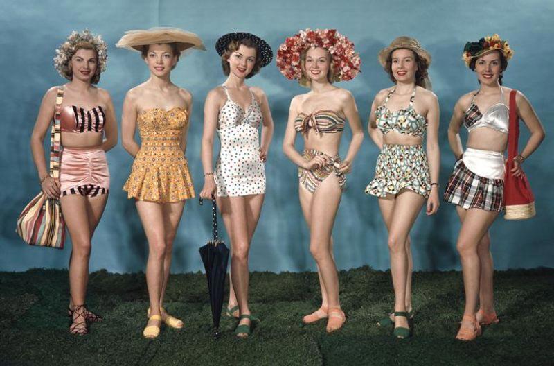 Lịch sử bikini: Những mẫu áo bơi của thập niên 1940