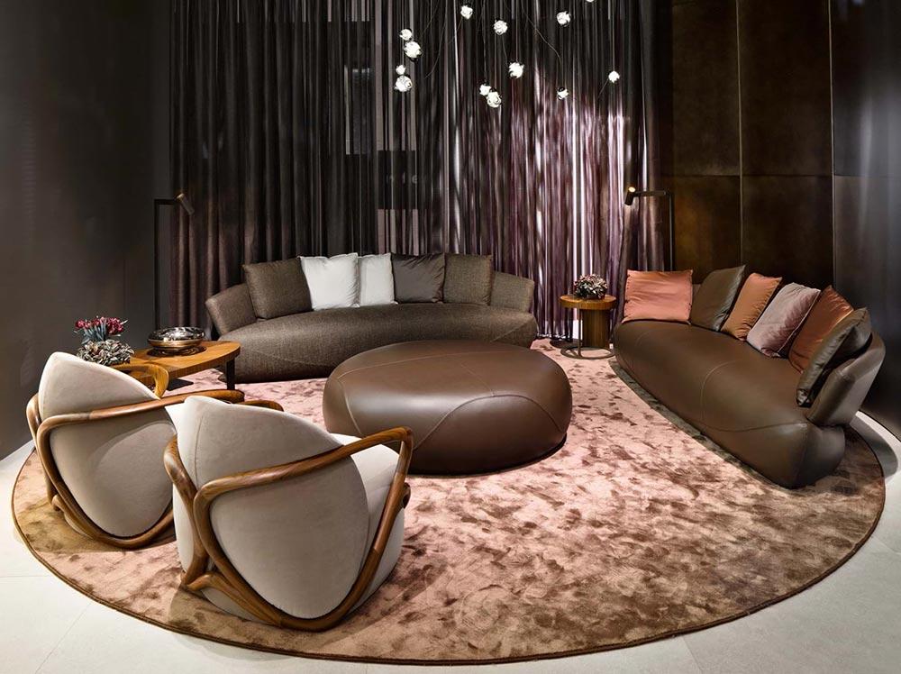 Các thiết kế nội thất của Giorgetti kết hợp tinh hoa mỹ nghệ thủ công cùng công nghệ hiện đại