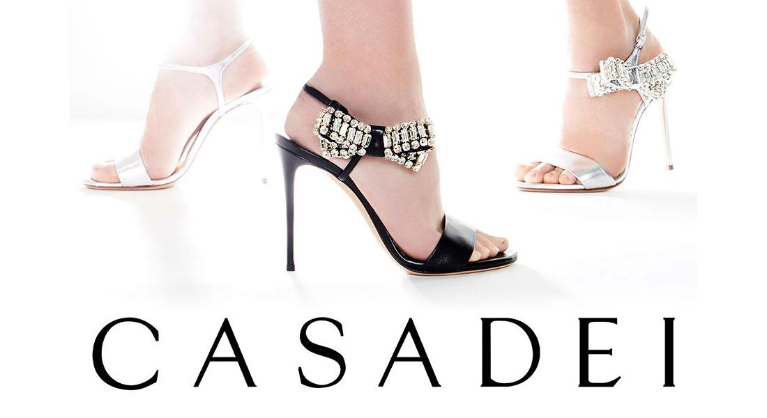 Thương hiệu Casadei: Giày Ý cao cấp