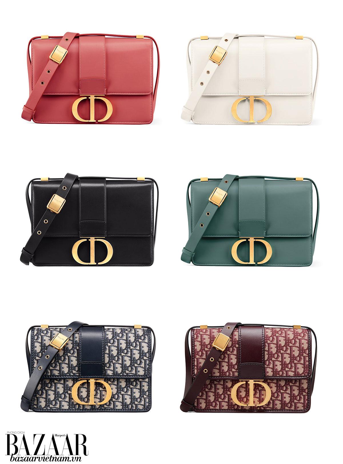 Màu sắc trang nhã của dòng túi xách Dior 30 Montaigne