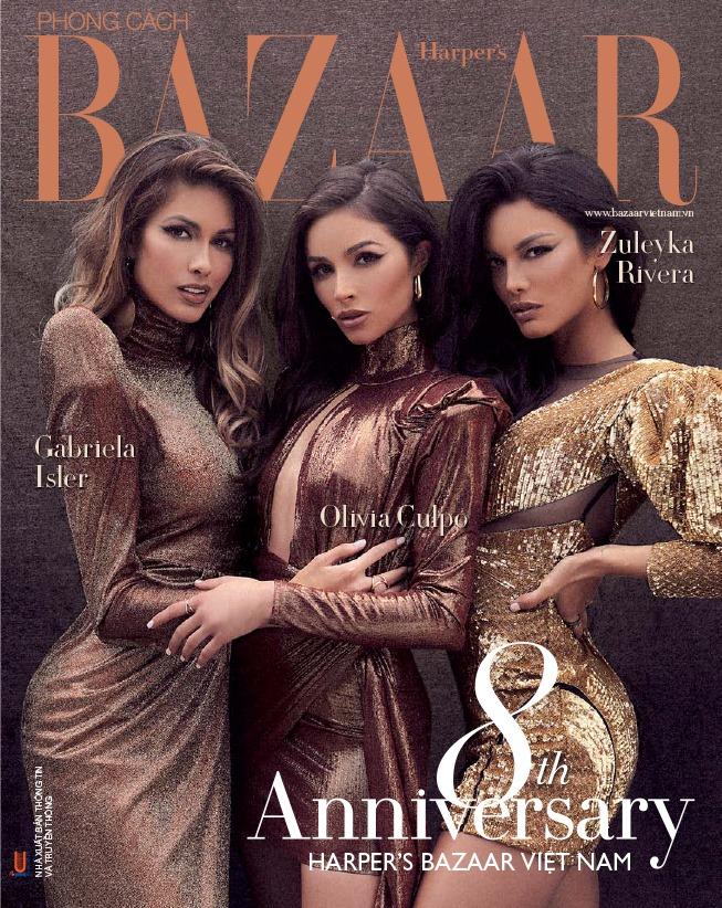 Bộ ba người đẹp Miss Universer Gabriela Isler, Olivia Culpo và Zuleyka Rivera