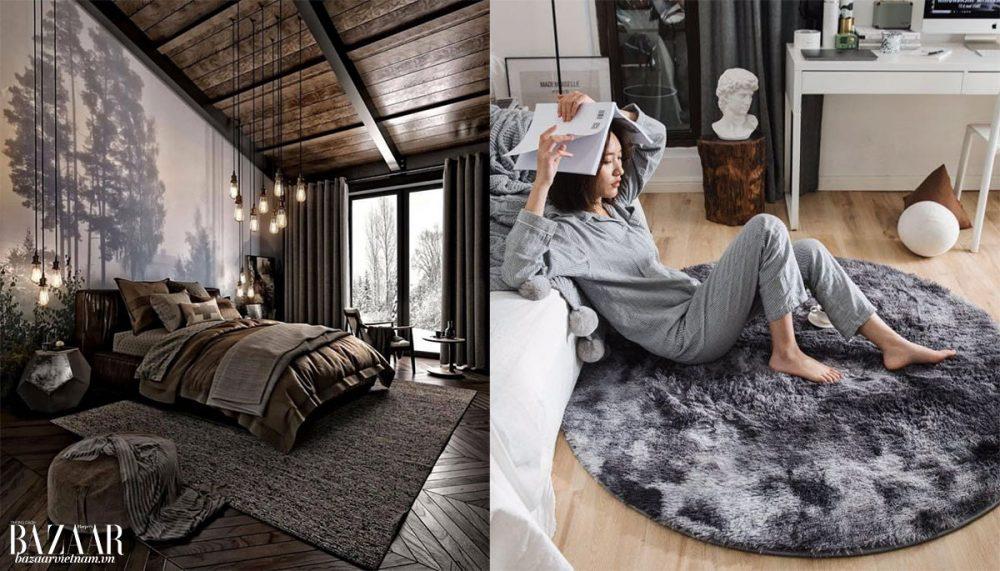 Tạo không gian phòng ngủ thoải mái