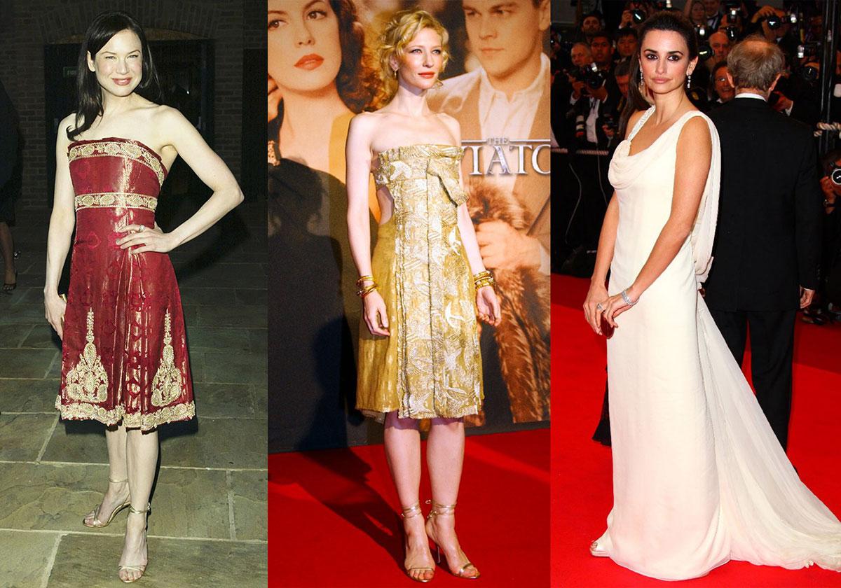 Có một mối tương quan không hề nhẹ giữa sự xuất hiện của thương hiệu Marchesa trên thảm đỏ với những bộ phim do Harvey Weinstein sản xuất
