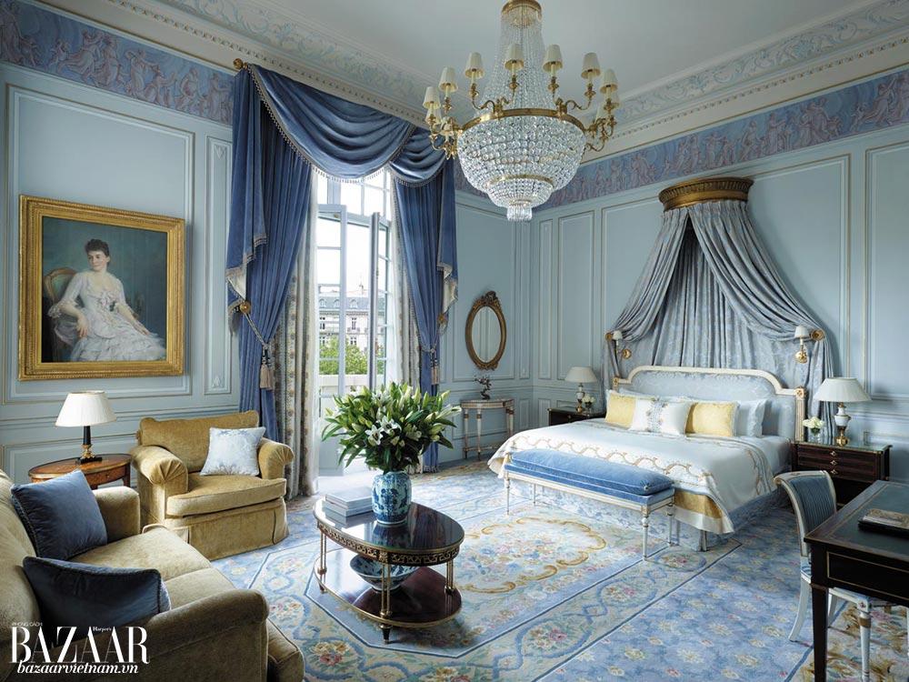 Suite Imperial tại Shangri-La Paris gợi nhớ nguồn cội gắn liền với gia đình đại đế Napoleon Bonaparte