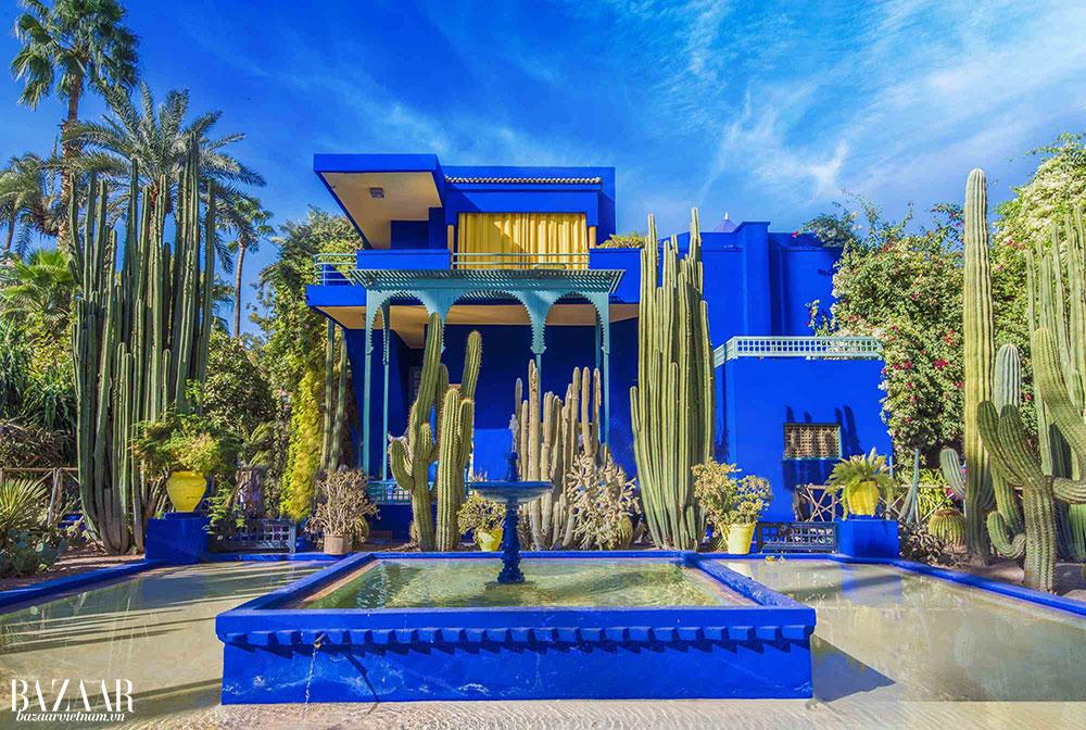 Căn nhà Villa Oasis của Yves Saint Laurent đã được biến thành một bảo tàng