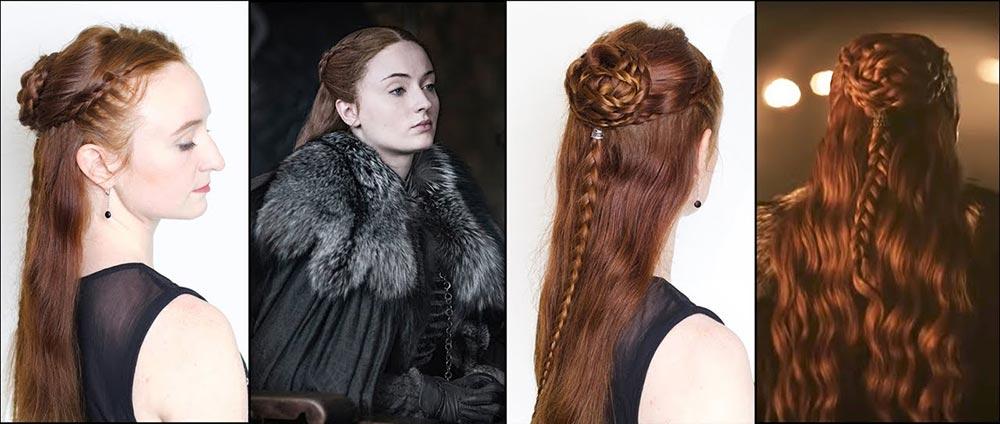 Nhiều kiểu tóc phức tạp trong bộ phim Game of Thrones thực chất là...tóc giả. Bạn cũng có thể học mẹo này để tạo kiểu tóc nhưng vẫn giảm gãy rụng tóc
