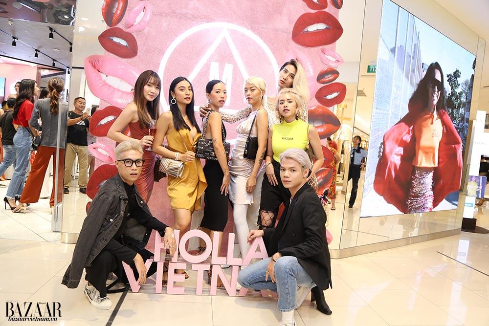 Dàn trai xinh gái đẹp đến tham dự buổi tiệc ra mắt của thương hiệu MISSGUIDED tại Việt Nam