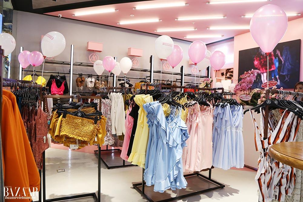 MISSGUIDED đến từ Anh Quốc dự kiến sẽ là địa điểm mua sắm hấp dẫn cho các bạn trẻ yêu thích thời trang Sài Thành