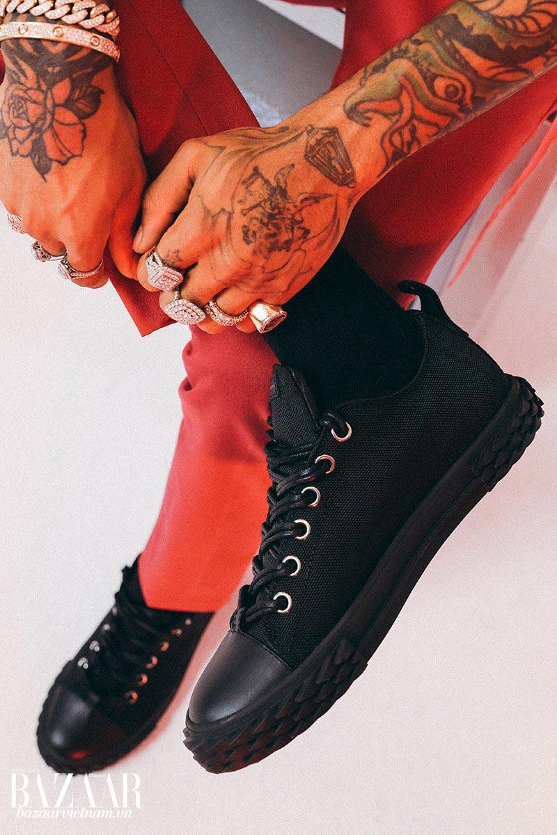Dòng giày thể thao streetluxe mới của Giuseppe Zanotti