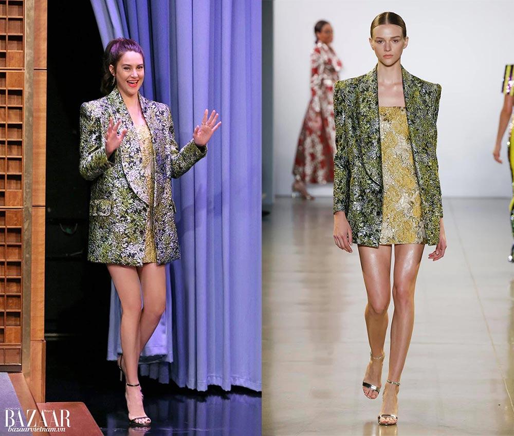 Nữ diễn viên Shailene Woodley xuất hiện rạng rỡ trong trang phục Công Trí