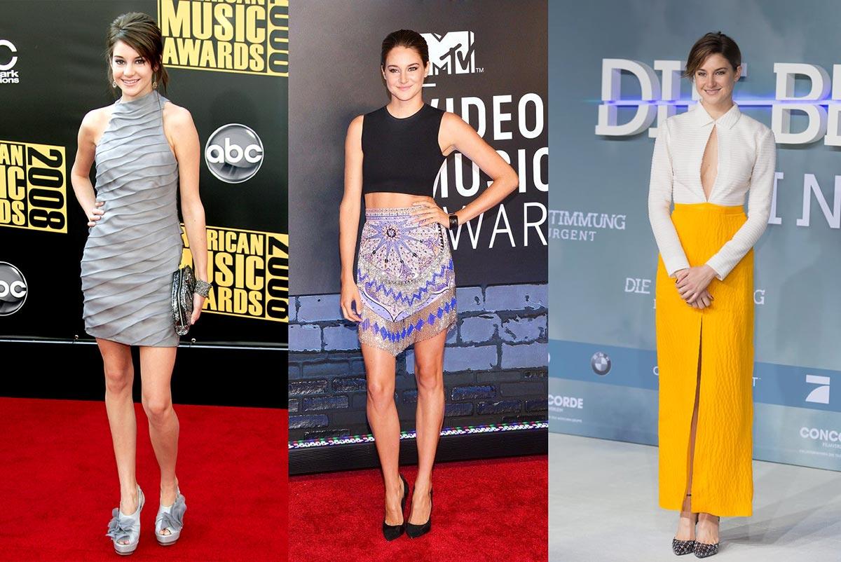 Trang phục Công Trí giúp mang lại vẻ bề ngoài chín chắn nhưng vẫn thời trang cho Shailene Woodley. Đây là bước tiến lớn từ những ngày đầu đặt chân lên thảm đỏ của nữ diễn viên.