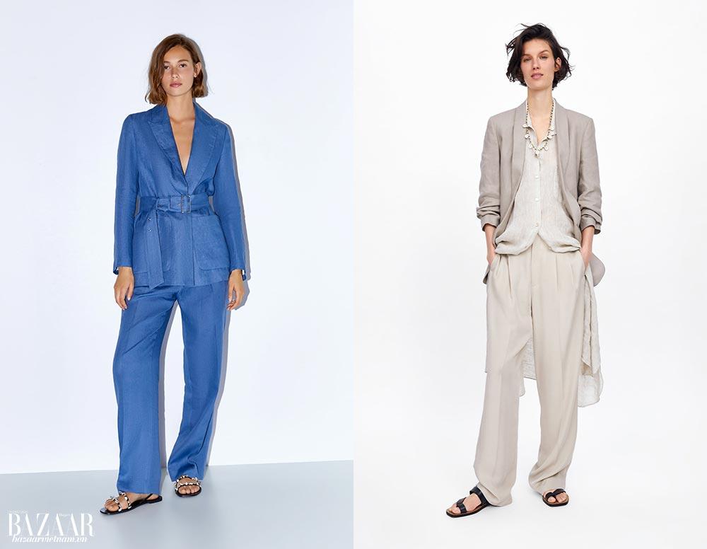 Thời trang công sở mùa hè. Zara.