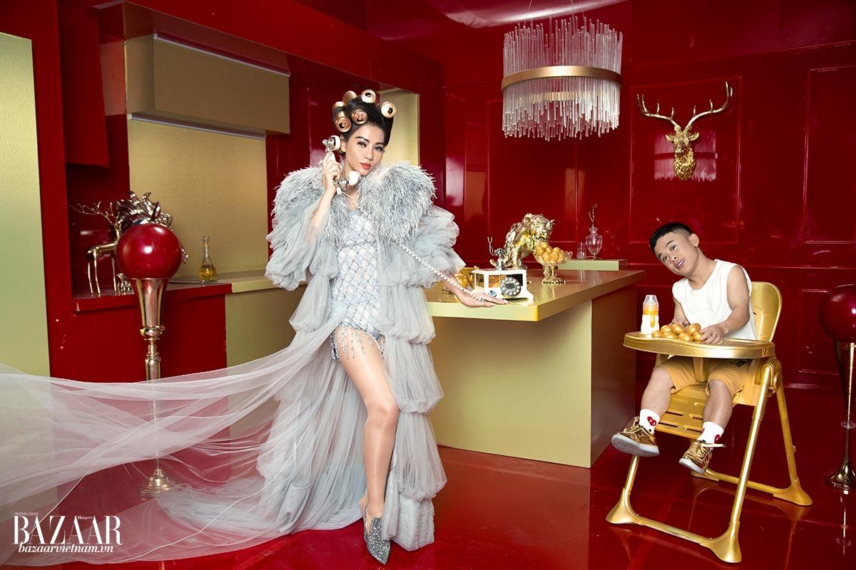 Thời trang MV DIVA của Thu Minh